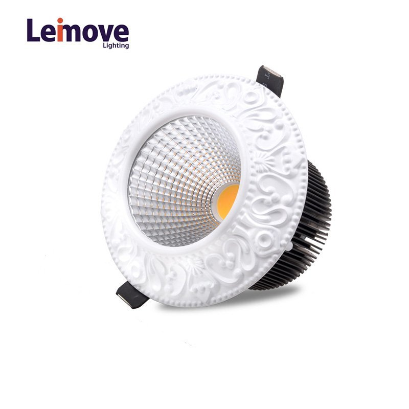 Leimove 10w Slim Led Round Downlight In Best Price LM8017 copper