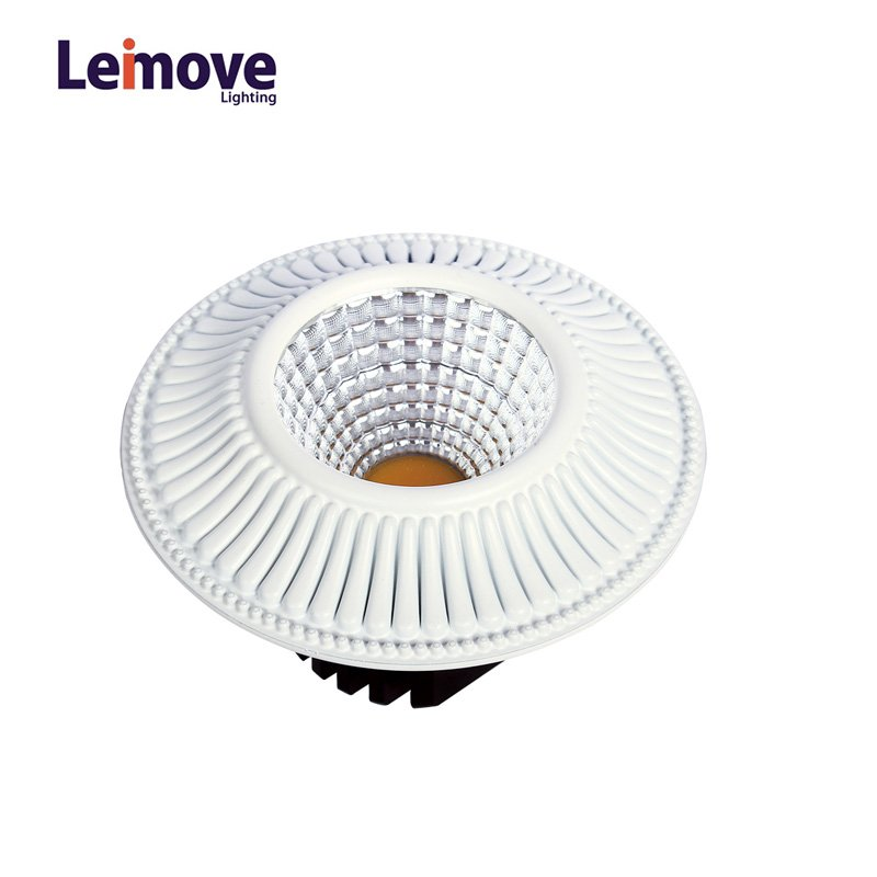 2017 New Cob Dimmable Led Downlight Malaysia, With 120mm Cut Out LM8018 Matte Whlte