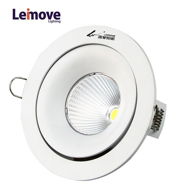 2017 new COB AC100-240V Round LED downlight  LM8003