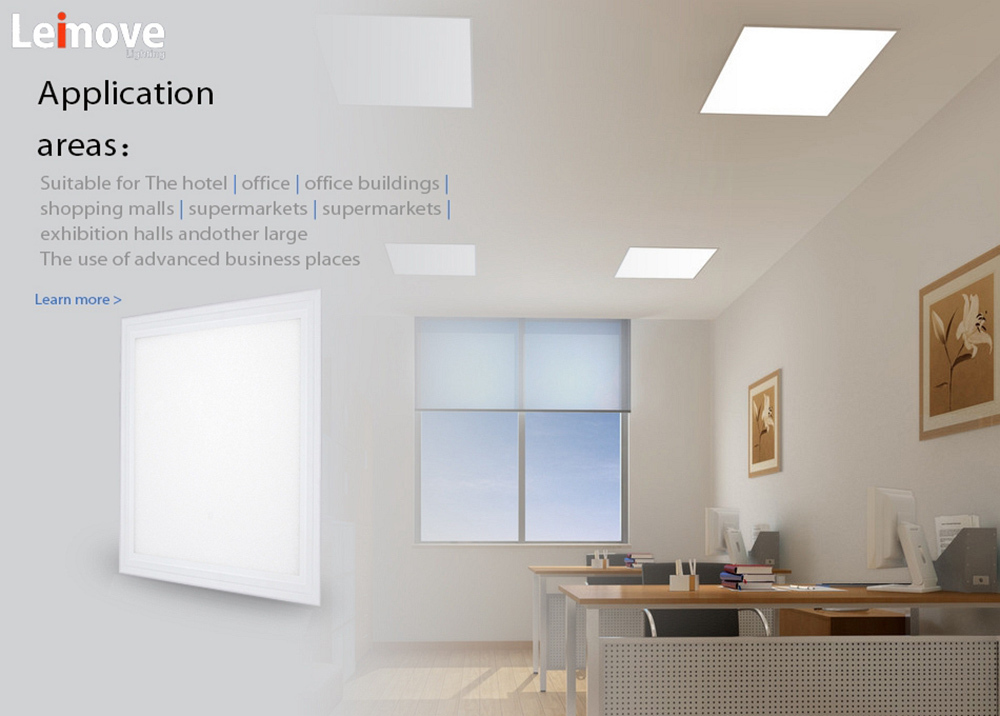 dimmable cqc led panel light rohs Leimove Brand company