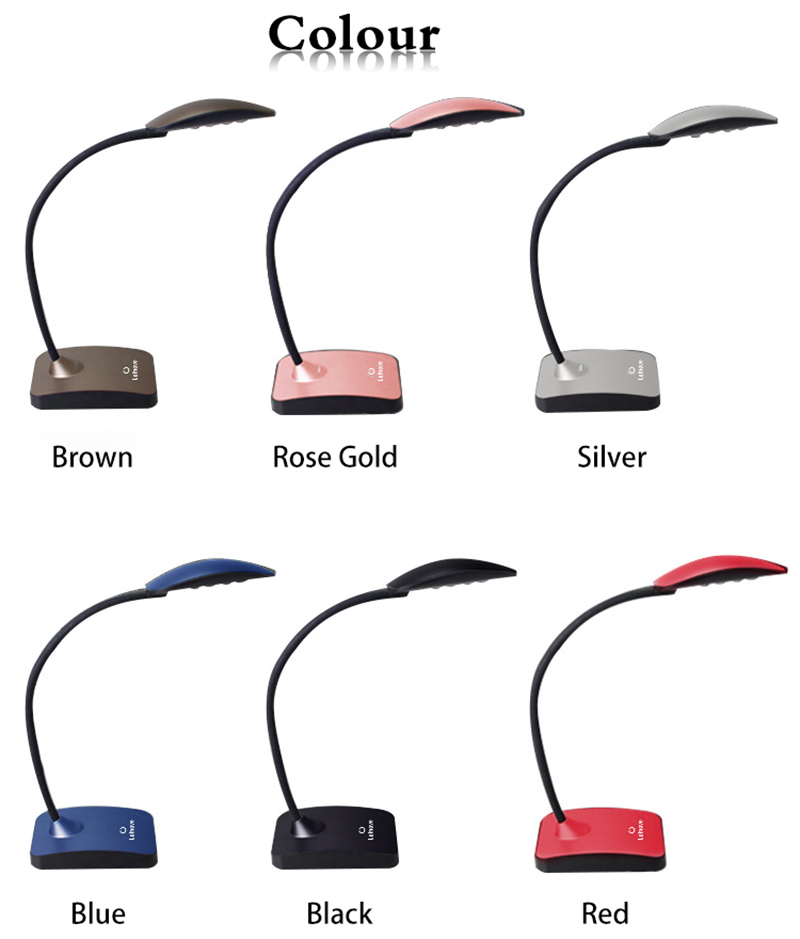Wholesale silver modern led desk lamp Leimove Brand