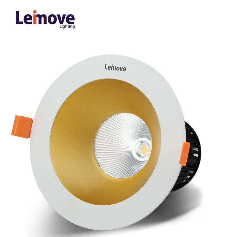 High luminance commercial recessed 15w cob led downlight  LM29842