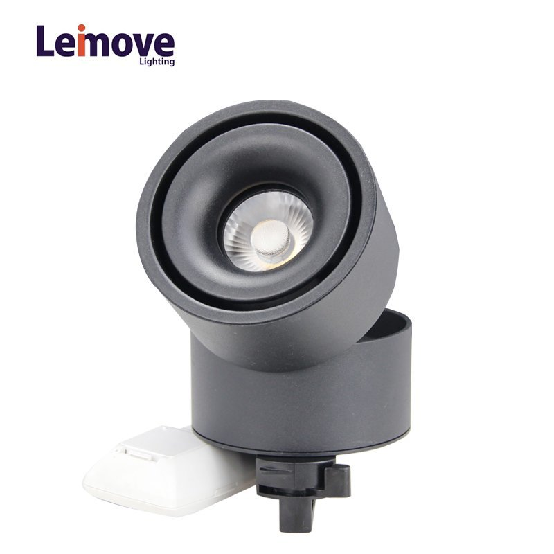 Lens Adjustable and CCT Switchable CE ETL Approved COB Led Track Light LM9219Q