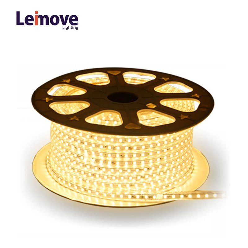 Outdoor Use IP65 Waterproof Round Shape 360 Degree Low Power Consumption Led Strip Light