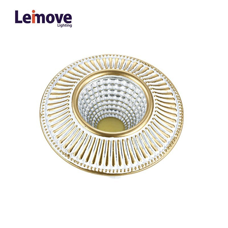 2017 New Cob Dimmable Led Downlight Malaysia, With 120mm Cut Out LM8018 Pearl Silver/Gold