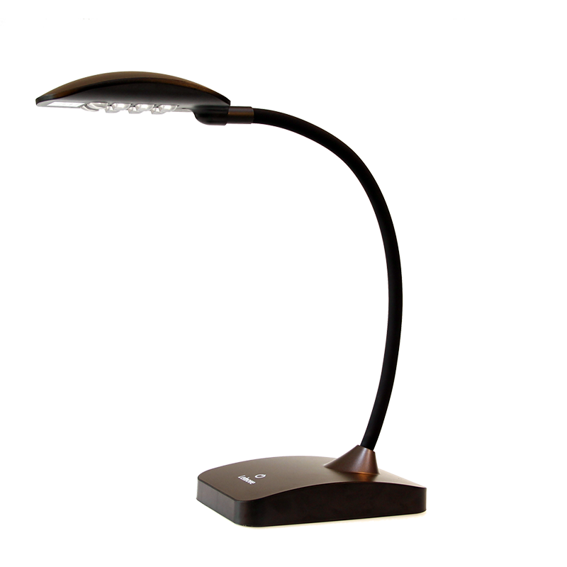 LED Table Lamp Dimmable Lamps Eye Protection Reading Lamps LMHYT-12 Brown