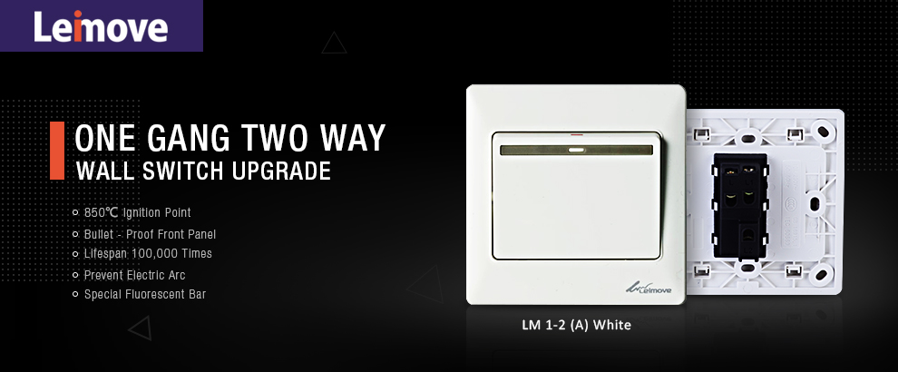 Wholesale switch single light switch gang Leimove Brand