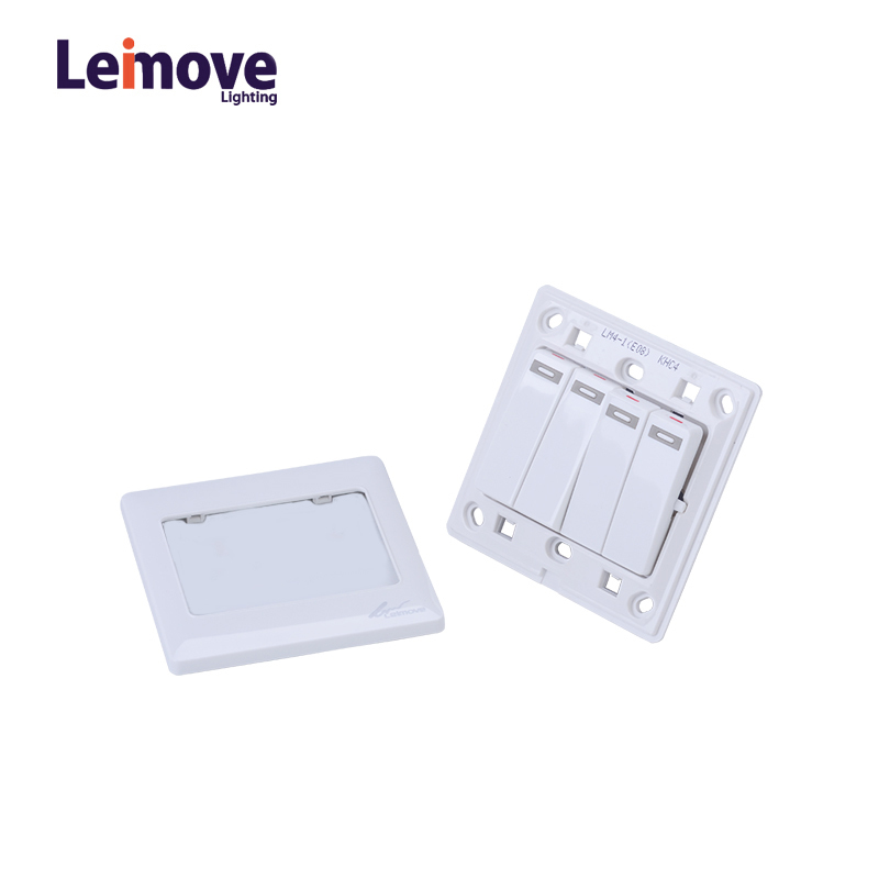 10A 110V 4 Gang 1 Way electrical Wall Switch 86*86