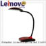 modern led desk lamp lamps brown red Leimove Brand