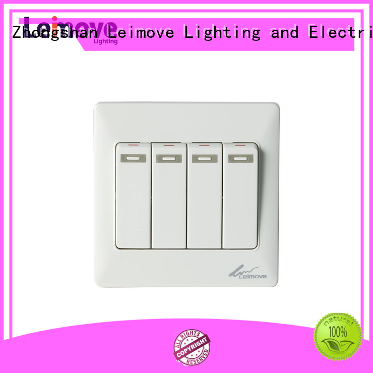 Leimove Brand one bell custom light switch plates