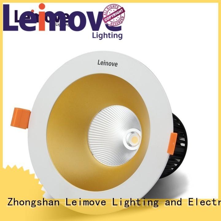 Leimove Brand luminance commercial cerohs custom best led downlights