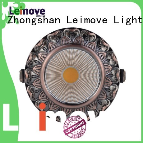 Leimove Brand quality matte led spot light manufacture