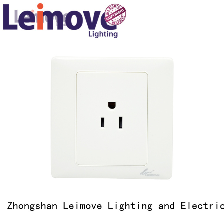 wall waterproof multi Leimove Brand wall power socket factory