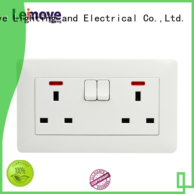 Wholesale outlet socket outlet Leimove Brand