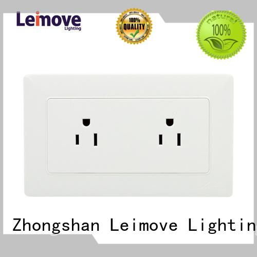 Wholesale european wall power socket electric Leimove Brand