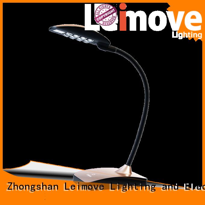 Custom lamp protection led desk lamp Leimove red
