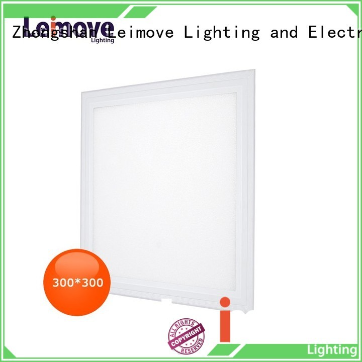 surface mounted white led flat panel light Leimove manufacture