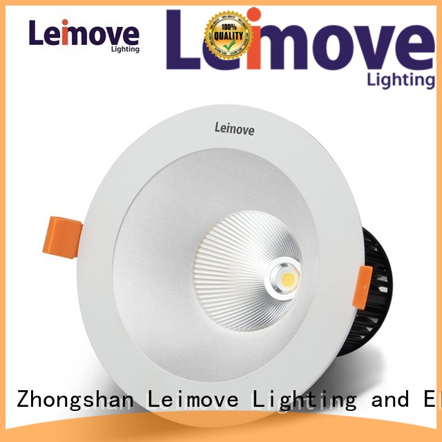 Leimove Brand mounted down best led downlights recessed supplier