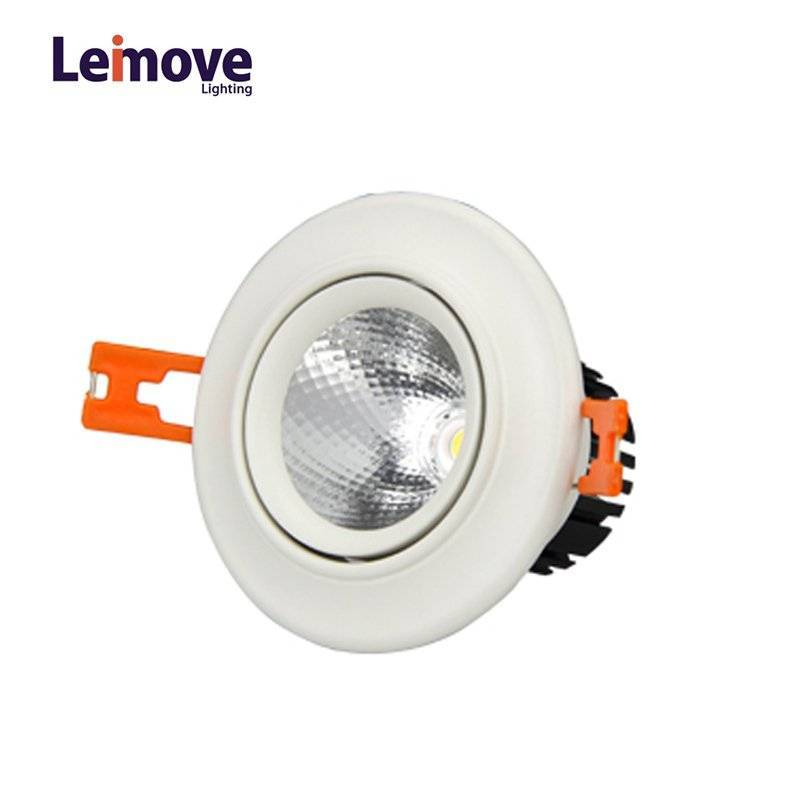 3W/5W COB Downlights CE/ROHS 3000K/4000K/6000K(with Light Source)  LM8020-5S