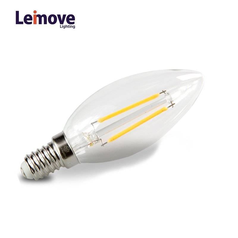 Wholesale rgb 220 Volt 2W LED Filament Bulb  LM-C35 2W