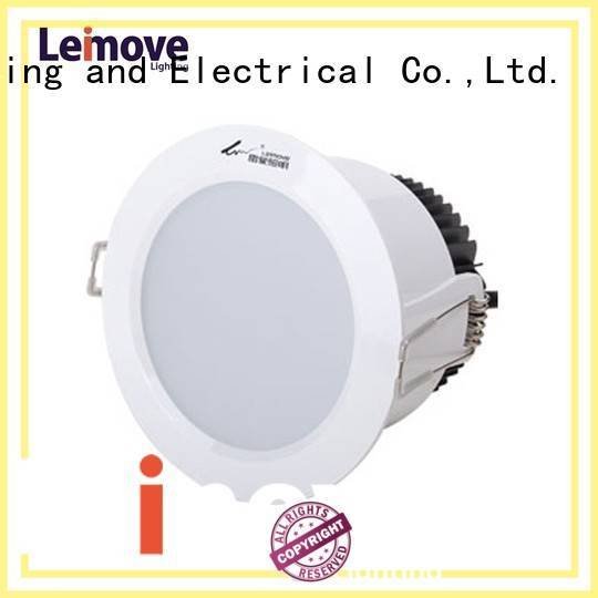 Leimove Brand recessed rohs milky led down light