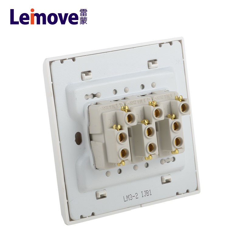 Single connection switch of three-position stilts LM3-2-HUI (Z)