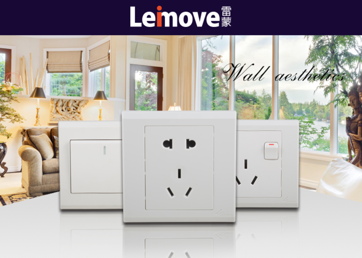 Leimove Brand electrical switches online factory