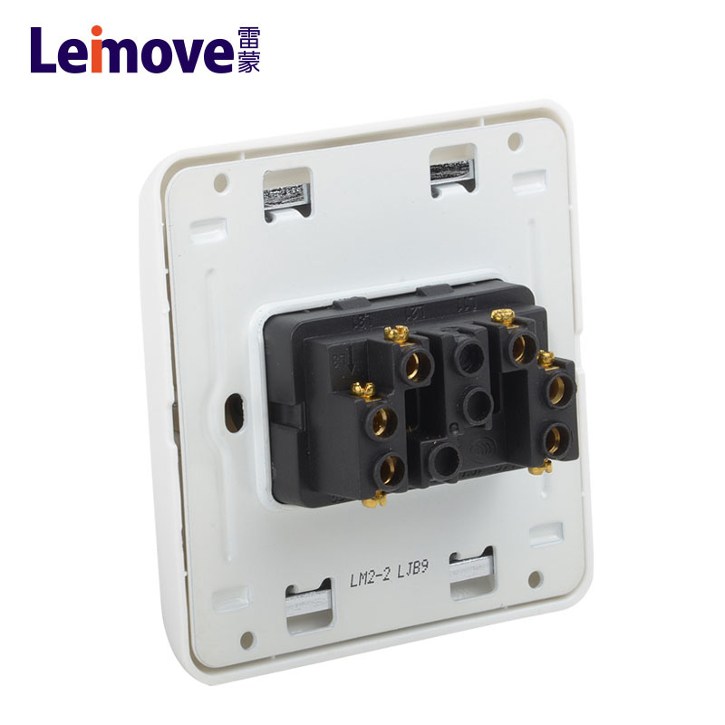 Double switch on two stilts LM2-2(A)