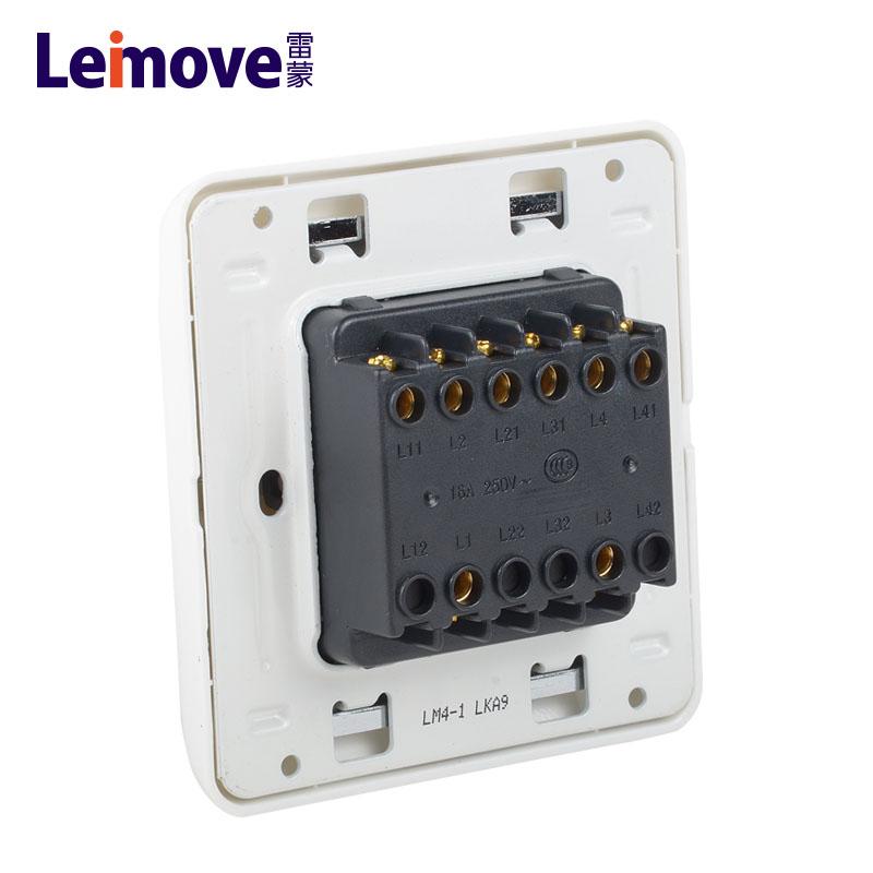 Four-position stilt-plate single connection switch LM4-1(A)