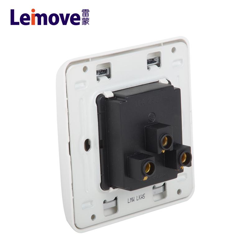Universal three-hole socket LMW(A)