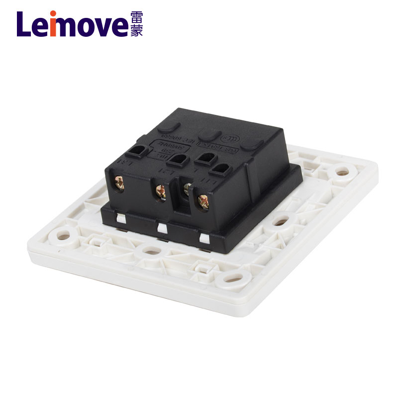 Leimove-Find Best Electrical Switches Three Big Rocker Dual Switch | Manufacture-1