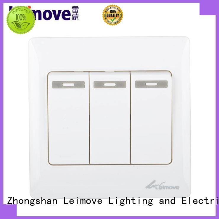 light switch plates bell door gang Leimove Brand company