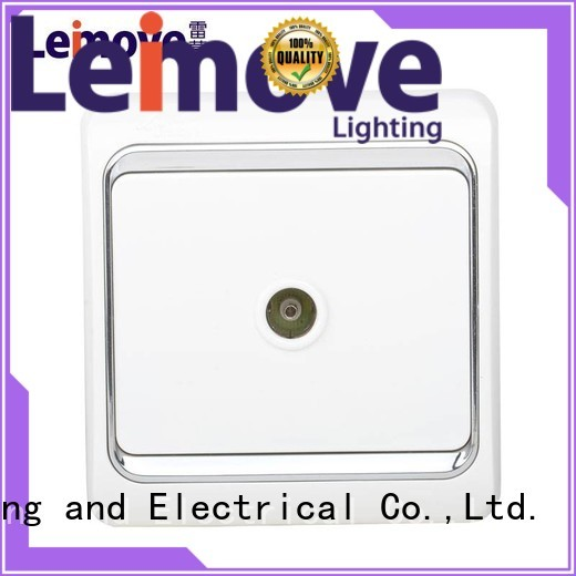 Leimove Brand wall power socket factory
