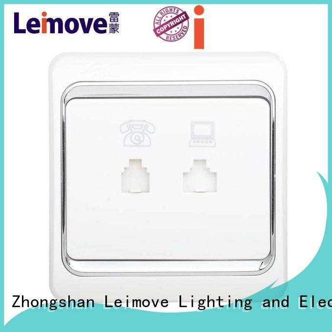 china electric socket Leimove Brand wall power socket