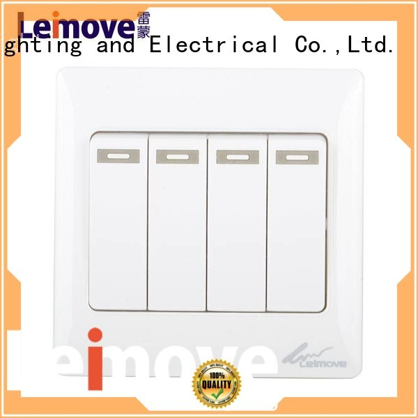 Custom wall switch electrical on off switch Leimove door