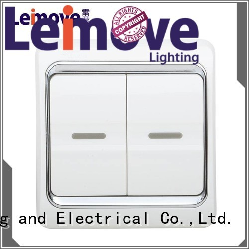 door way one Leimove Brand switches and sockets supplier