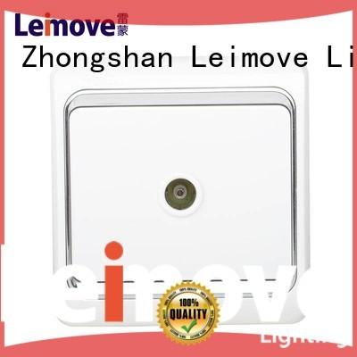 china electric socket wall power socket Leimove Brand